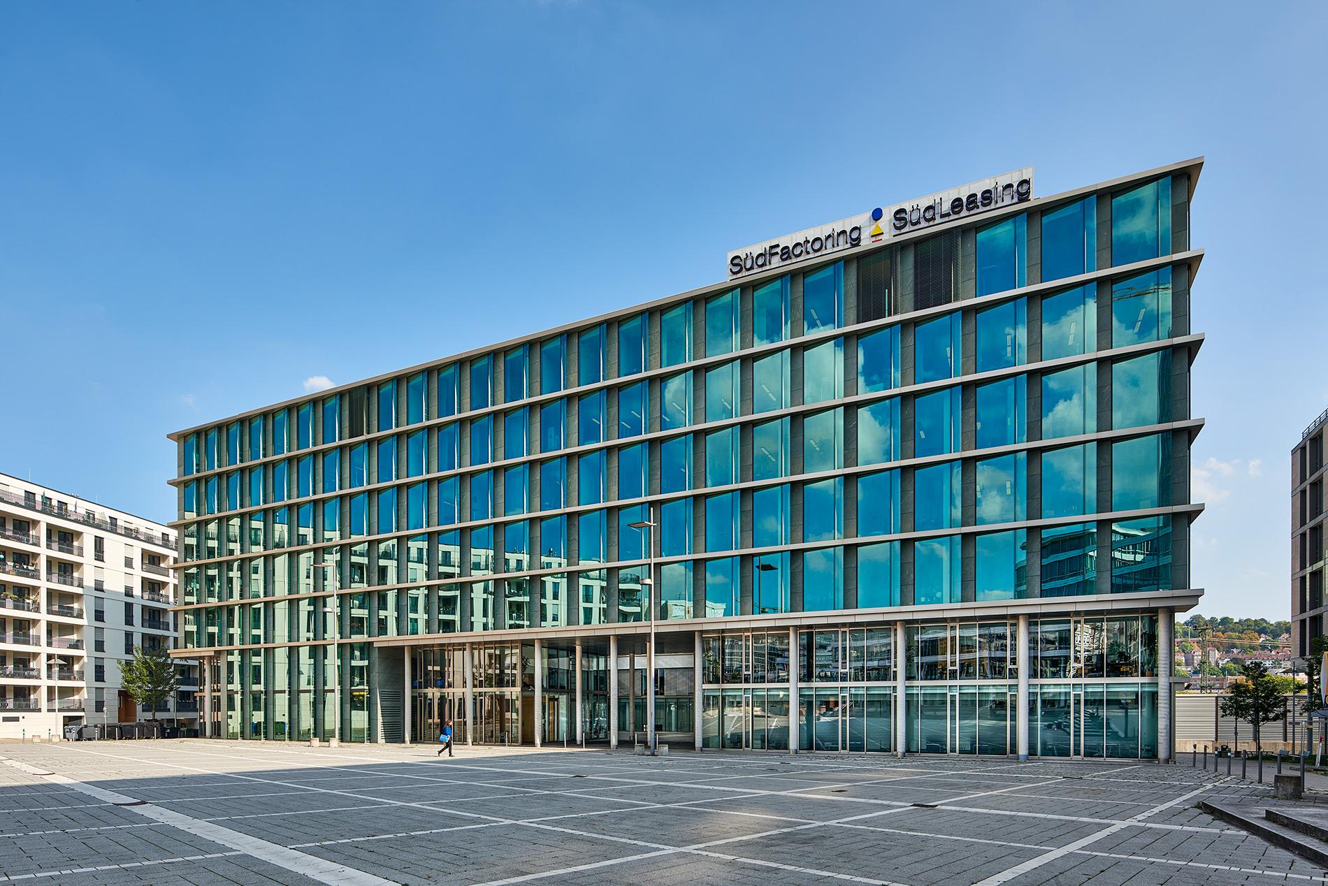 Bürogebäude Pariser Platz in Stuttgart
