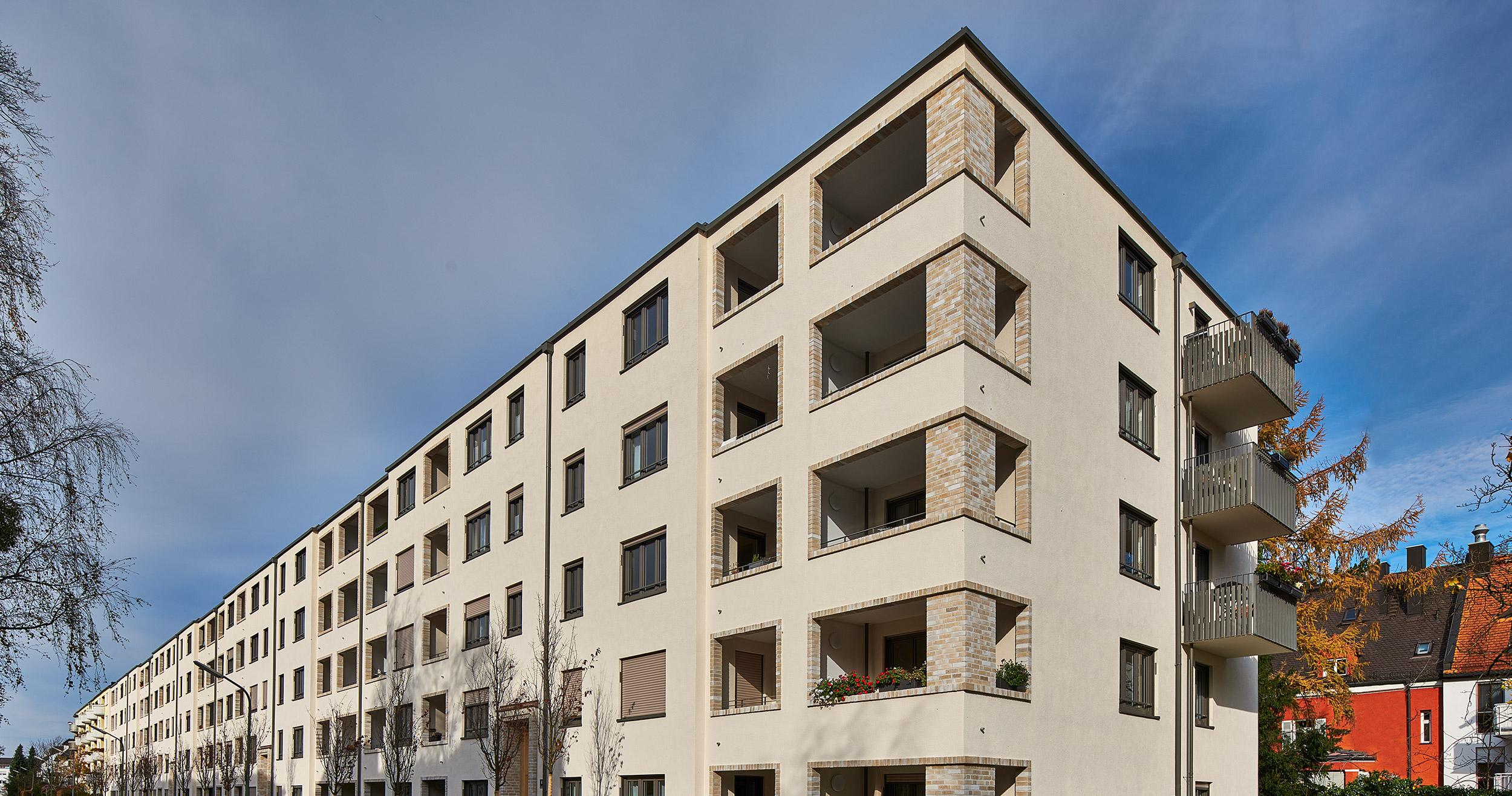 Wohnhaus De La Paz in München